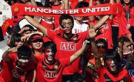 worlds most popular football club is manchester united
