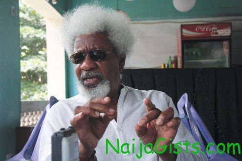 wole soyinka on fuel subsidy