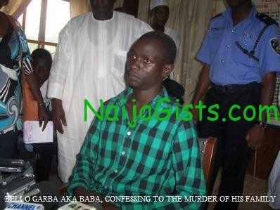bello garba to die by hanging kano killed parent and siblings