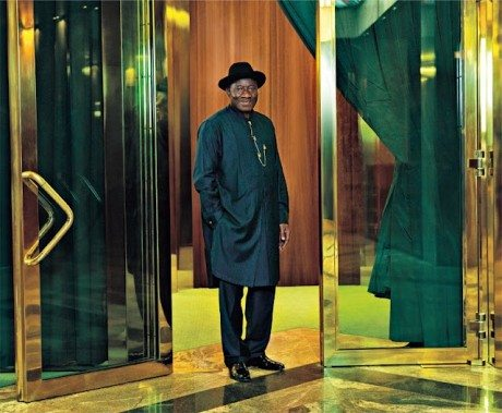 president of nigeria vogue italia magazine