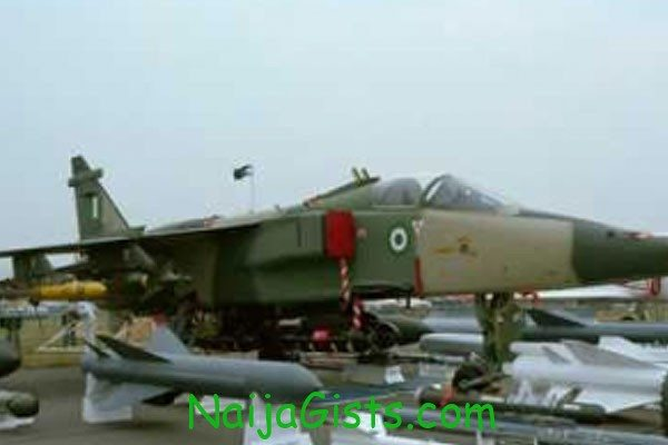Nigerian Air Force F7-Ni crash