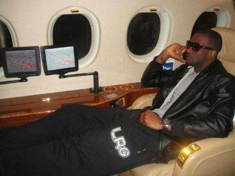 p square private jet
