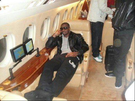 private jet for p square