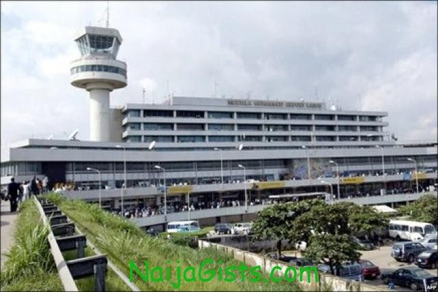 bomb scare international airport lagos