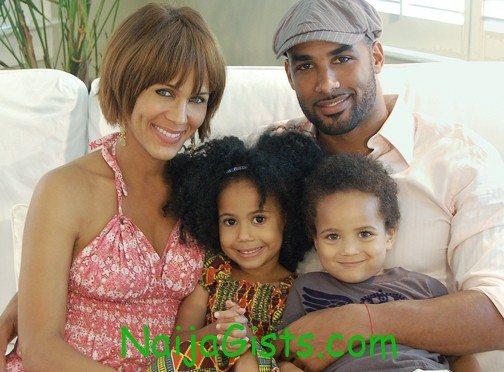 boris kodjoe family and wife