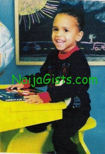 chris-brown kid / childhood picture