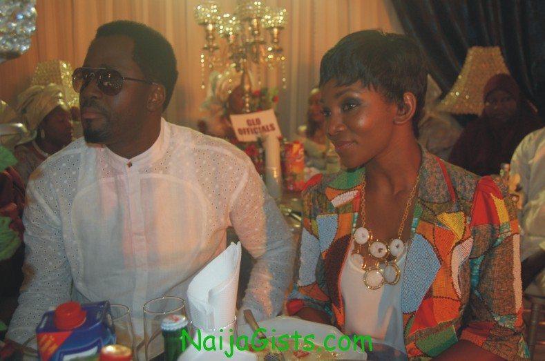 Desmond Elliot and Genevieve Nnaji