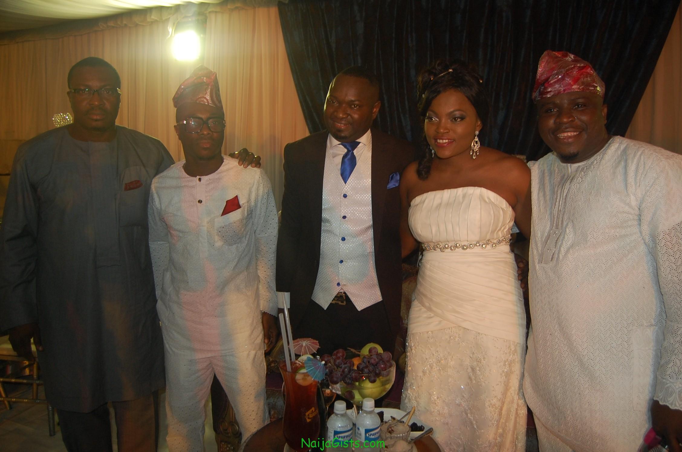 funke akindele wedding nigerian comedian