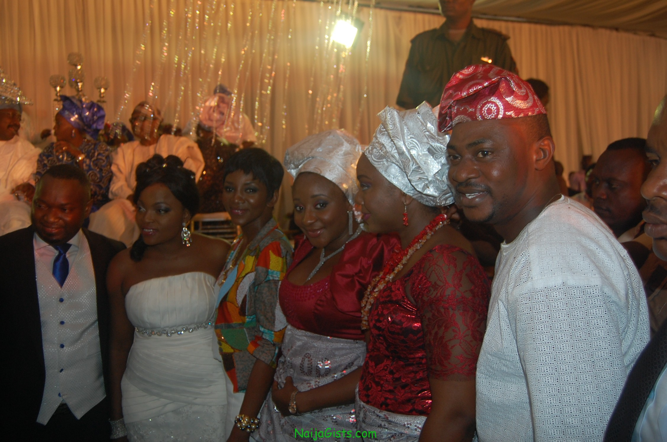 nollywood stars at funke akindele wedding