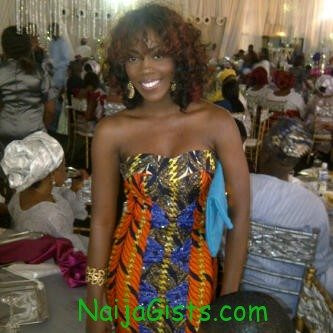 tiwa savage at funke akindele wedding