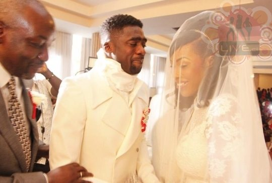 kolo toure marriage
