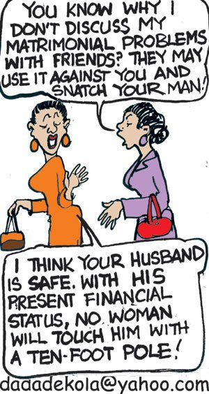 husband matter nigerian cartoon