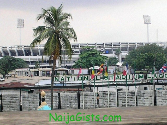 lagos national stadium fire