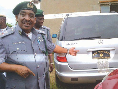 seme smuggled suv nigeria