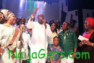Odunlade Adekola at the Yoruba movie academy awards 2012