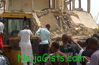 building collapsed in abuja
