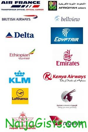 all airlines in nigeria