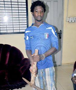 ghanaian man who axe dad