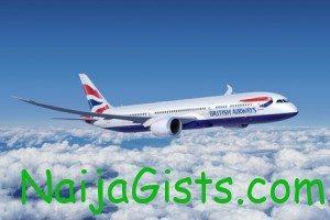 british airways airline nigeria