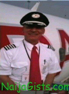 pilot of crashed dana airplane