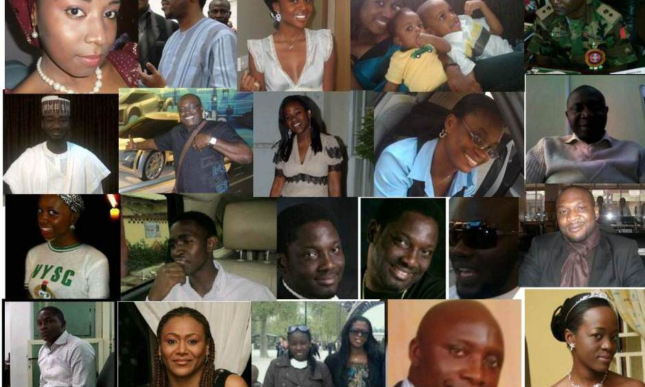 names and list of dana air crash victims