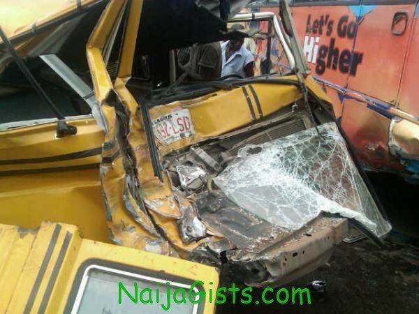 danfo bus accident berger