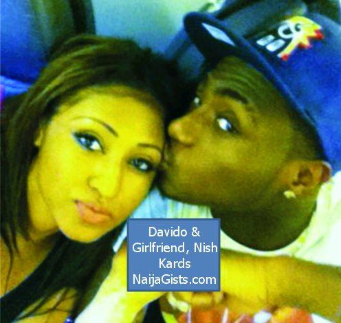 davido and girlfriend nish kards