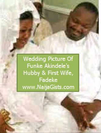 funke akindele husband first wife