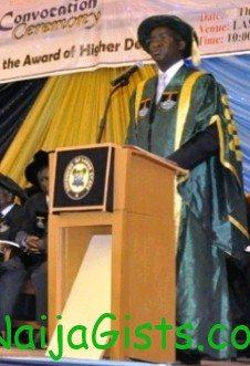governor fashola honorary degree lasu