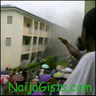 fire at redeemers university hotel
