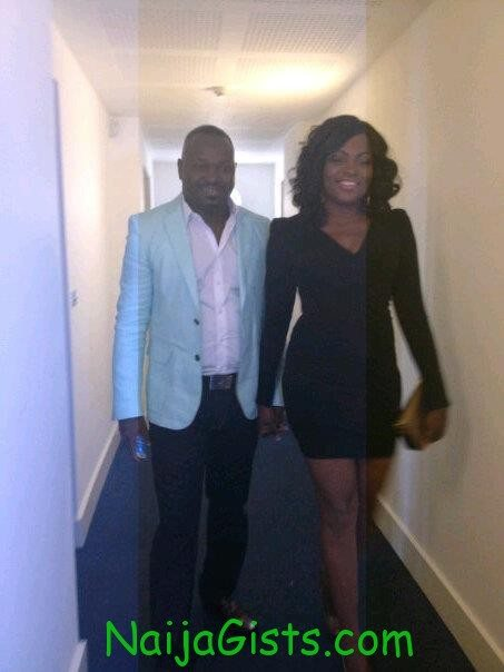 pictures from funke akindele honeymoon