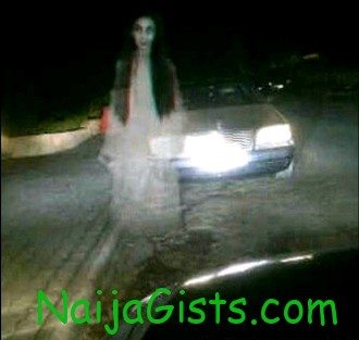 ghost seen in lekki peninsula lagos nigeria