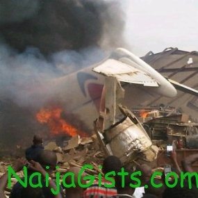 dana airline plane crash on sunday