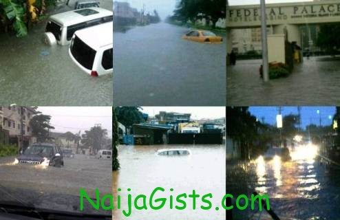 lagos state rainfall 2012