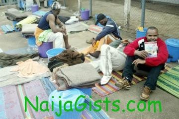 nigerians deported from uk to nigeria