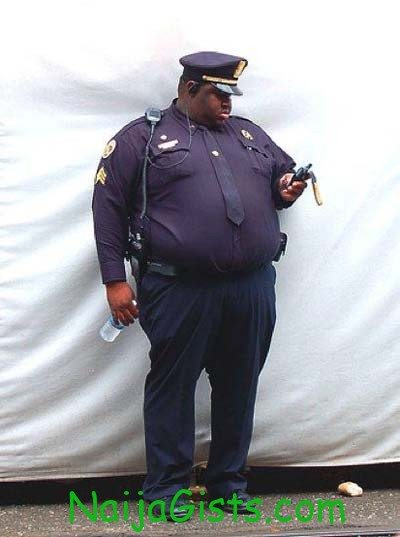 fat police cops