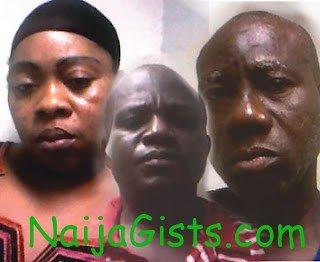 grandpa and pregnant lady caught in abuja