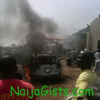 boko haram bomb blast at harvest church in bauchi