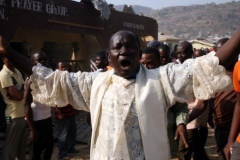 nigeria church bombed