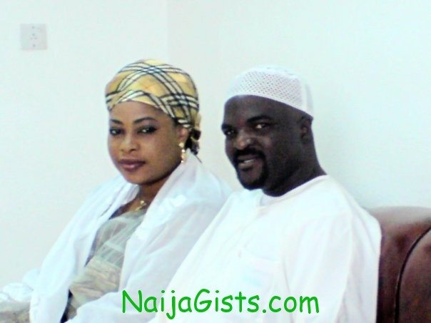 abass akande obesere and wife