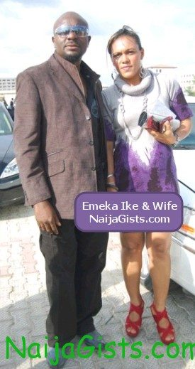 emeka ike and wife