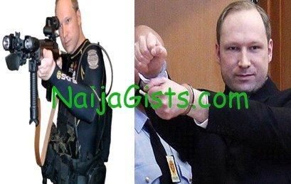 Anders Behring Breivik jailed