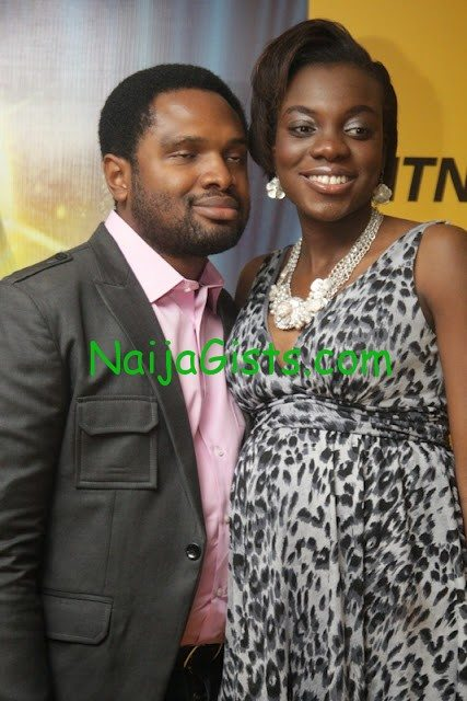 Cobhams Asukwo and wife