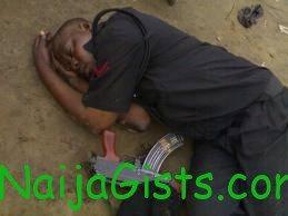 police officer kills himself