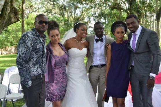yvonne nelson wedding