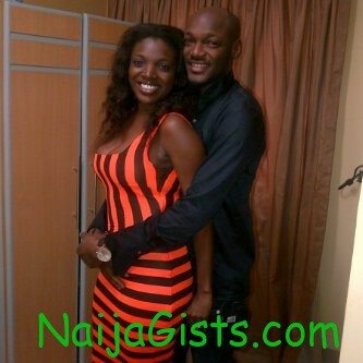 2face idibia's wife annie pregnant