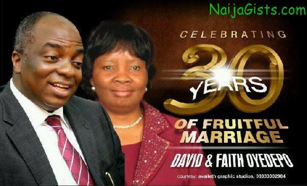 bishop david oyedepo wedding