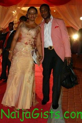 darey art alade and wife baby girl