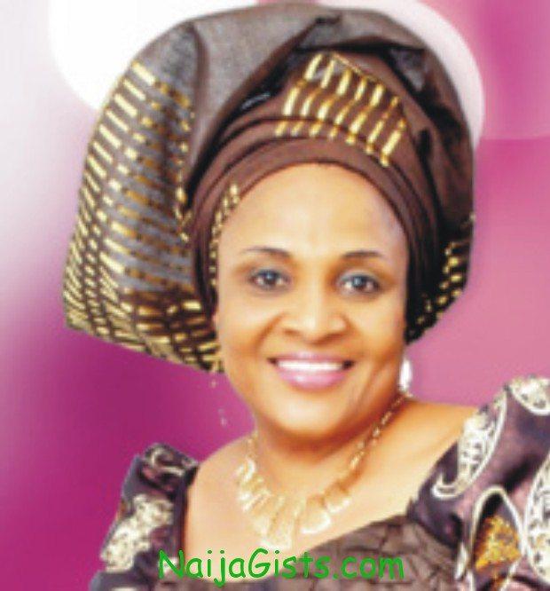 ajimobi's wife