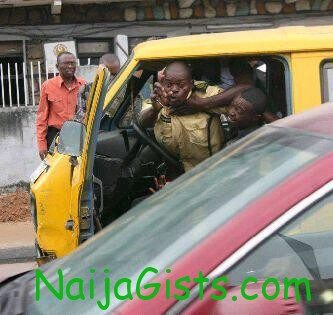 lastma officials fighting on duty
